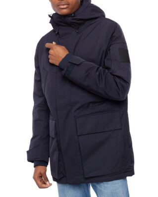 Peak Performance Ground Parka Men Salute Blue