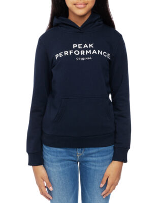 Peak Performance Junior Original Hoodie Kids Salute Blue
