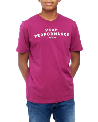 Peak Performance Junior Original Tee Kids Pink Caramel