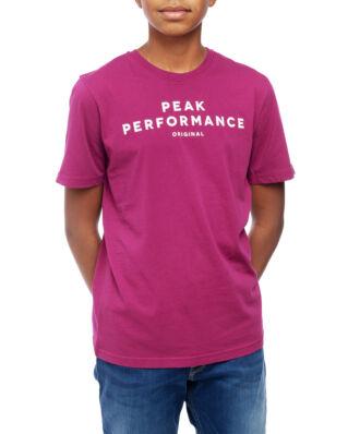 Peak Performance Junior Original Tee Kids Pink Caramel