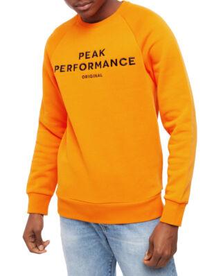 Peak Performance Original Crew Men Orange