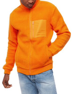 Peak Performance Original Pile Zip Jacket Men Orange
