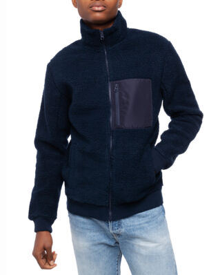 Peak Performance Original Pile Zip Jacket Men Salute Blue