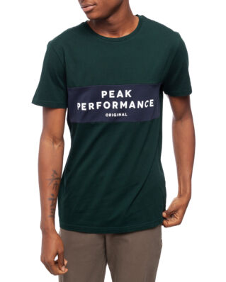 Peak Performance Original Seasonal Tee  Men Scarab Green