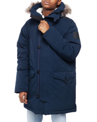 Peak Performance X.11 Navigate Parka Men Salute Blue