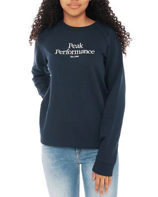 Peak Performance Junior Original Crew Blue Shadow