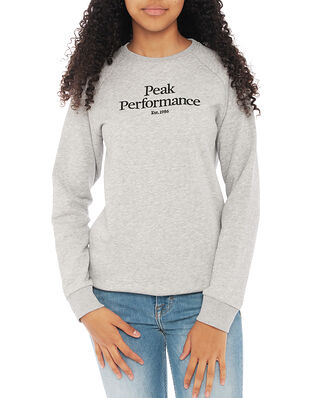 Peak Performance Junior Original Crew Med Grey Mel
