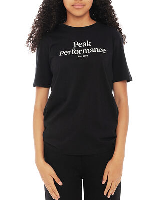 Peak Performance Junior Original Tee Black