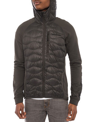 Peak Performance M Helium Hybrid Hood Jacket Black Olive