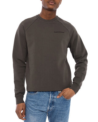 Peak Performance M Moment Crew Black Olive