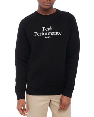 Peak Performance M Original Crew Black