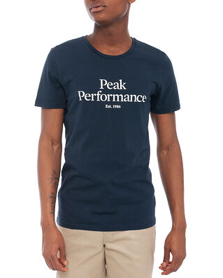 Peak Performance M Original Tee Blue Shadow