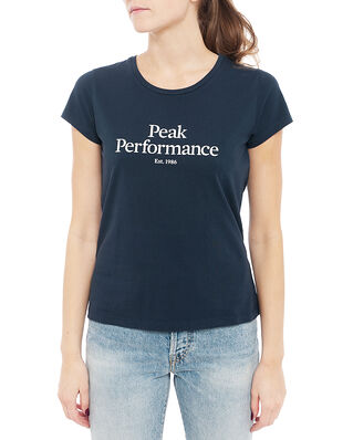 Peak Performance W Original Tee Blue Shadow