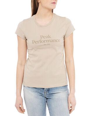 Peak Performance W Original Tee Celsian Beige