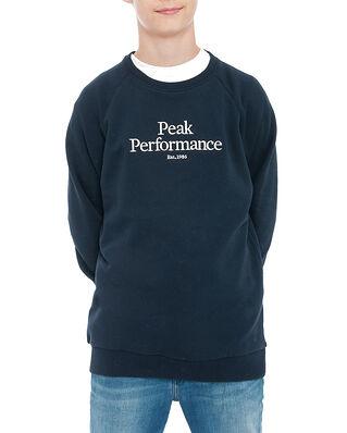 Peak Performance Junior Original Crew Blue Shadow