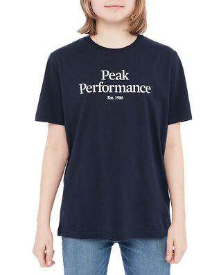 Peak Performance Junior Original Tee Blue Shadow