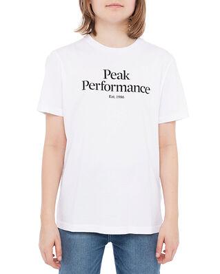 Peak Performance Junior Original Tee White