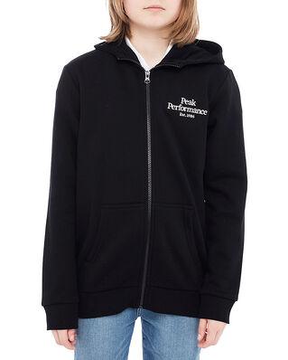 Peak Performance Junior Original Zip Hood Black