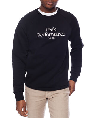 Peak Performance M Original Crew Black