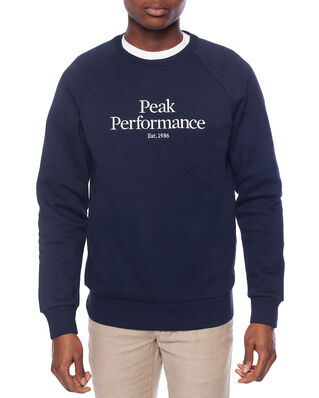 Peak Performance M Original Crew Blue Shadow