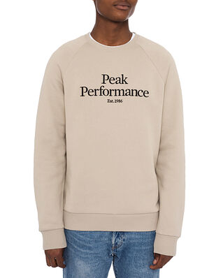 Peak Performance M Original Crew Celsian Beige