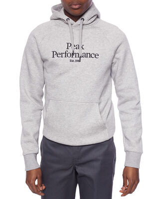 Peak Performance M Original Hood Med Grey Mel