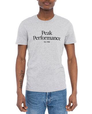 Peak Performance M Original Tee Med Grey Melange