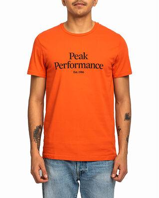 Peak Performance Original Tee Go For Orange