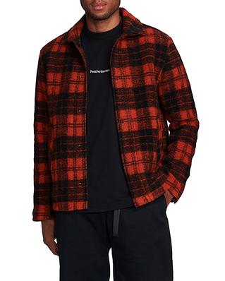 Peak Performance Wool Shirt Check 103