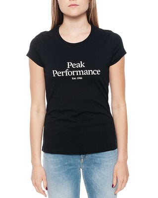 Peak Performance W Orig Tee Black