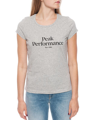 Peak Performance W Orig Tee Med Grey Mel