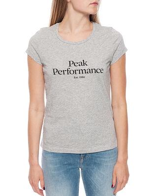 Peak Performance W Orig Tee Med Grey Mel
