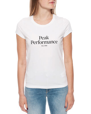 Peak Performance W Orig Tee White