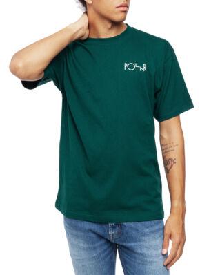 Polar Skate Co. Stroke Logo Tee Dark Green