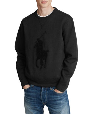 Polo Ralph Lauren Big Pony Sweatshirt Polo Black