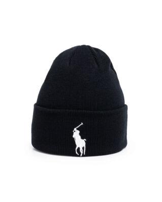 Polo Ralph Lauren Big Pp Hat Polo Black