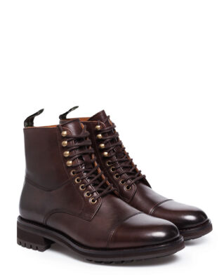 Polo Ralph Lauren Bryson Casual Boot Dark Brown