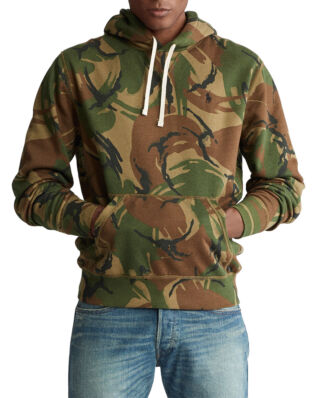 Polo Ralph Lauren Camo Fleece Hoodie British Elmwood Camo
