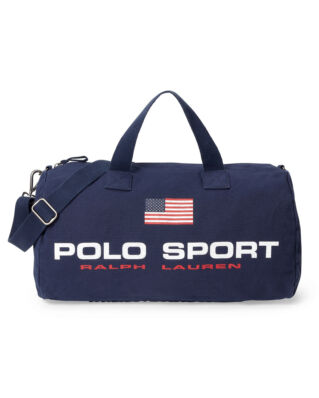 Polo Ralph Lauren Canvas Polo Sport Duffel Navy