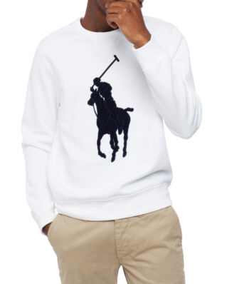 Polo Ralph Lauren Classic Double Knit Tech White/Navy PP