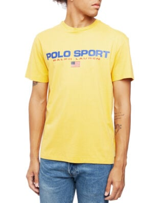 Polo Ralph Lauren Classic Fit Polo Sport Tee Chrome Yellow