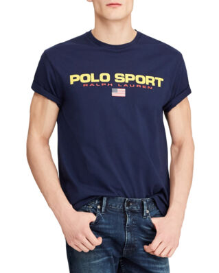 Polo Ralph Lauren Classic Fit Polo Sport Tee Cruise Navy