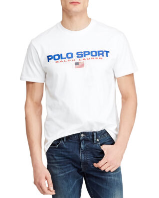 Polo Ralph Lauren Classic Fit Polo Sport Tee White