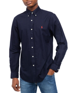 Polo Ralph Lauren Classic Long Sleeve Oxford Sport Shirt Rl Navy