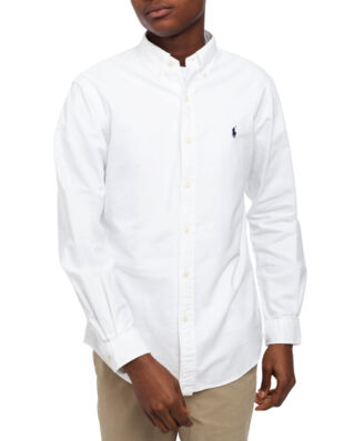 Polo Ralph Lauren Classic Long Sleeve Oxford Sport Shirt White