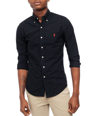Polo Ralph Lauren Classic Long Sleeve Sport Shirt Black