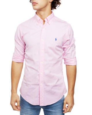 Polo Ralph Lauren Classic Long Sleeve Sport Shirt Carmel Pink