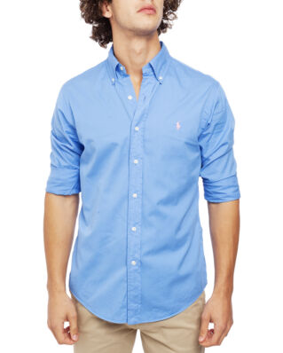 Polo Ralph Lauren Classic Long Sleeve Sport Shirt Harbor Island Blue