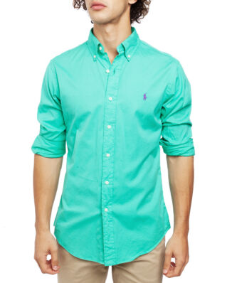 Polo Ralph Lauren Classic Long Sleeve Sport Shirt Sunset Green