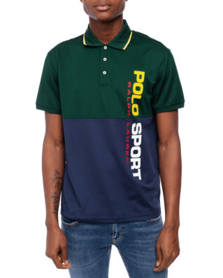 Polo Ralph Lauren Classic Polo Sport Pique Green Multi